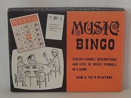 1967 Dek-a-Music Co. MUSIC BINGO Game No. 704 - $44.55
