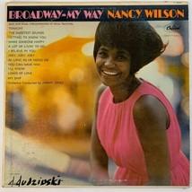Broadway My Way Nancy Wilson Vinyl 33rpm Record Capitol Records - $2.99