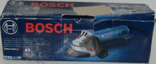 BOSCH GWS10 45PE Angle Grinder with Lock On Paddle Switch CORDED Package 1