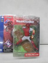 Ivan Pudge Rodriguez Texas Rangers MLB McFarlane Figure NIB Baseball Ser... - $79.19
