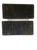 1939 Wisconsin License Plate Set Vintage image 2