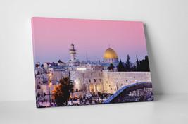 "Jerusalem Israel Wailing Wall Gallery Wrapped Canvas Wall Art 30""x20"" or 20""x16"" - $44.50+"