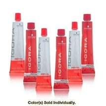 Schwarzkopf Igora Royal Colorist's Color Creme Tube 7-65 Medium Auburn G... - $8.09