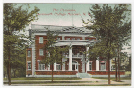 The Commons Dartmouth College Hanover New Hampshire 1910 postcard - $6.44