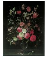 "11x14""Poster on Canvas.Home Room Interior design.Flower bouquet vase.6497 - $28.05"