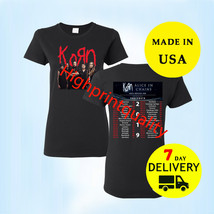 Korn and Alice In Chains Shirt North American Tour 2019 T-Shirt  Black Women - $24.99+