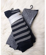 NWT 6 Pair of GEOFFREY BEENE MENS Dress Casual SOCKS Size 10-13 Multi Co... - $34.87