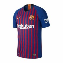 Nike 2018/19 Men's FC Barcelona Home Authentic Vapor Match Jersey, NEW - $93.49