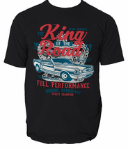 King Of The Road t shirt muscle car garage mechanic S-3XL  - $12.29+