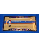 BRAND NEW LOS ANGELES LAKERS CHROME AUTO LICENSE PLATE FRAME NBA TEAM **... - $15.95