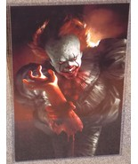 IT Pennywise Glossy Art Print 11 x 17 In Hard Plastic Sleeve - $24.99