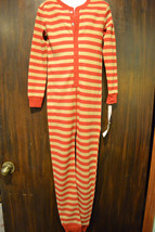 Cherokee Boys Striped 1 Pcs Union Suit   Size- XS 4-5 OR S 6-7  NWT - $13.99