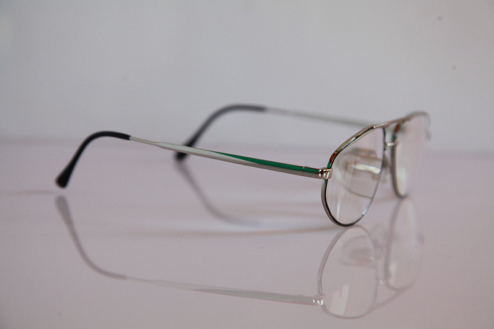 APOLLO-OPTIK Eyewear, Chrome Frame,  RX-Able Prescription lens. Germany