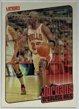 1999 Upper Deck Victory #422 Jordan's Greatest Hits #23 Chicago Bulls Card  - $4.89