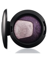 MAC Mineralize Eye Shadow Eyeshadow PAST MIDNIGHT Purple Duo NIB - $22.09