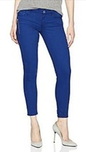 Guess Women's Jeans Blue Magic Over Dye Crop Skinny Stretch 28 X 23 NWT $89 - $47.51