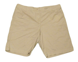 Womens Brown WHITE STAG Casual Shorts 18 Cotton Polyester Blend - $10.45