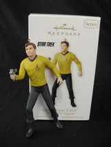 Hallmark Keepsake Ornament Star Trek Captain James T Kirk  - $22.67