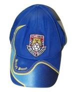 Blue Challenger British Soccer Baseball Cap Hat Ball 14605 - $29.69
