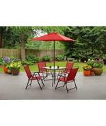 Premium 6-Piece Folding Dining Set Albany Lane Stylish Garden Patio Yard... - $200.63