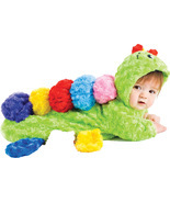 Colorful Caterpillar Bunting , Infant Costume , 0 TO 6 MONTHS - Free Shi... - $545,93 MXN