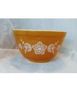 Pyrex Bowl, Butterfly Gold Pattern, Model 401, 1-1/2 Pint size - $10.00