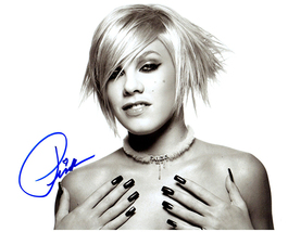 PINK  Authentic Original  SIGNED AUTOGRAPHED 8X10 w/ COA - $75.00