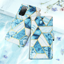 Case For Samsung S21 S20FE S9 S10 A51 Note 10 20Ultra Marble Leather Wal... - $71.38