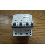 Siemens 5SY7340 40A 3p 400V/480V Din Rail Mount Breaker w/ Auxiliary Swi... - $100.00