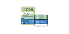 L'oreal Pure Clay ANTI-BLEMISH Mask With A Combination Of 3 Types Of Clay - $25.22