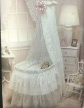 Vogue Sewing Pattern 2869 Baby Bassinet Accessories Comforter Skirt Eyel... - $9.89