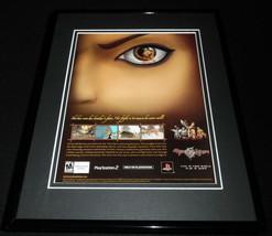 Rise of the Kasai 2005 PS2 Framed 11x14 ORIGINAL Advertisement - $22.55