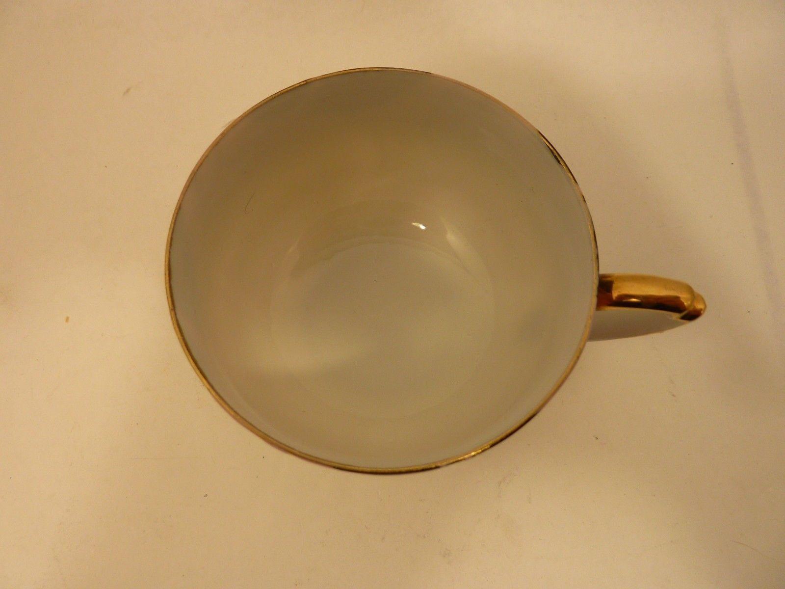 Ucagco China Occupied Japan Teacup Matching Saucer Set