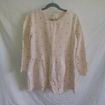 H&M Girls Sz. 8-10 Pink/Gold Polka Dot Dress - $5.99