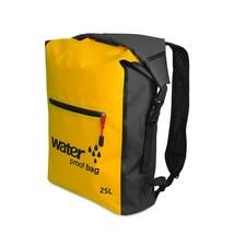 25L Waterproof Backpack, Outdoor Packable Bag / Dry Sack -  YELLOW - $26.95