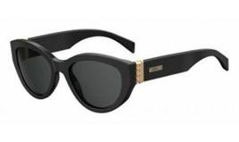 NEW Moschino MOS012-S-0807 Black Sunglasses - $75.24