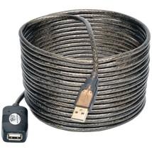 Tripp Lite U026-016 USB 2.0 Active Extension Cable, 16ft - $33.73
