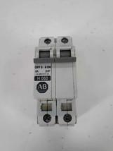 Allen-Bradley 1492-CB2 H060 Ser C Circuit Breaker 2 Pole, 6A, 2HP - $20.52