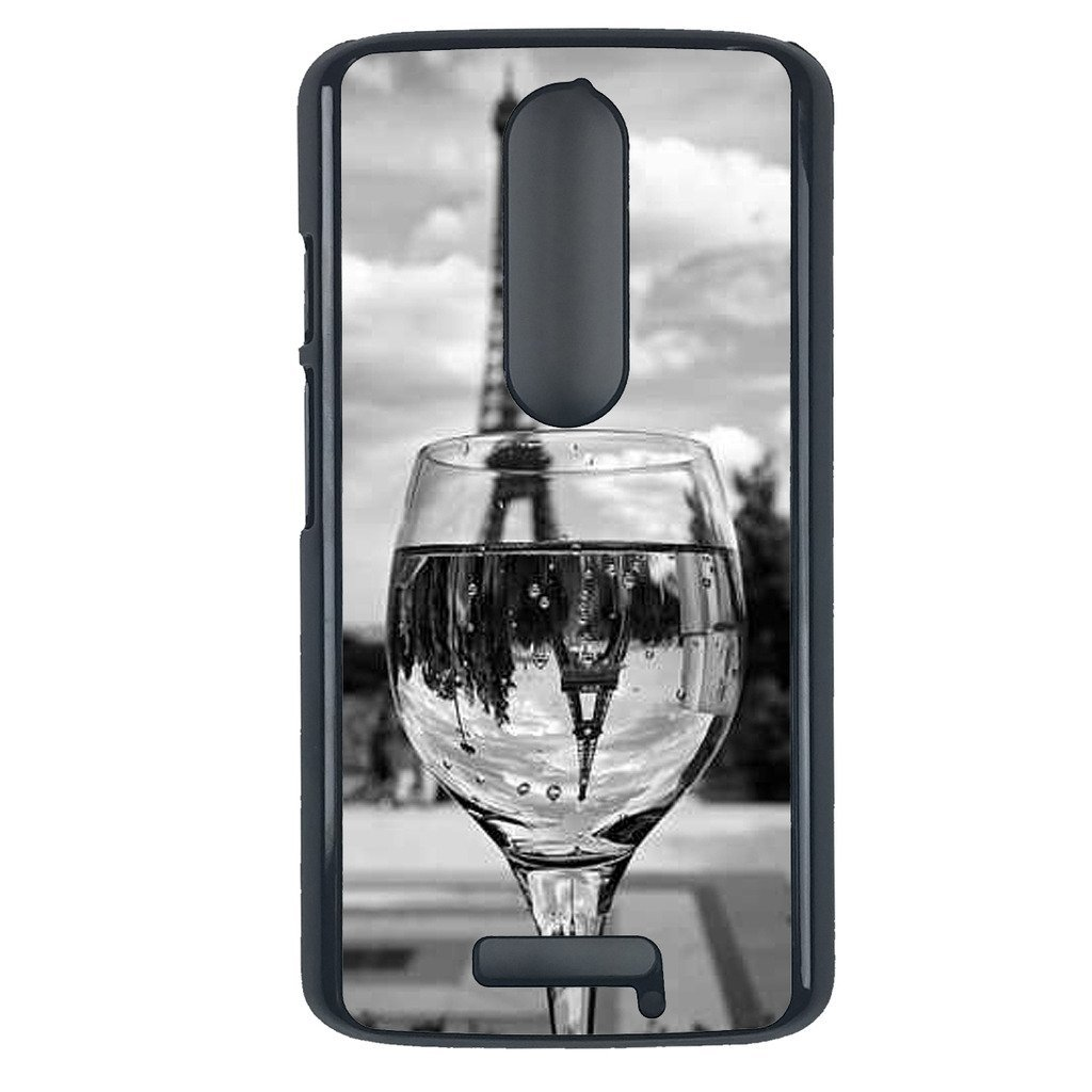 Coloful wine with Paris Motorola Moto G3 case Customized premium plastic phone c