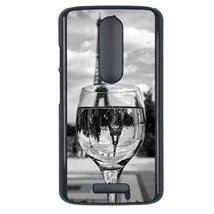 Coloful wine with Paris Motorola Moto G3 case Customized premium plastic... - $12.86