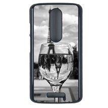 Coloful wine with Paris Motorola Moto G3 case Customized premium plastic phone c - $12.86