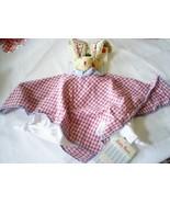 "Kathe Kruse Lovey Luckies Bunny Towel Doll 18"" Germany Newborn Birth 0+ ... - $21.77"