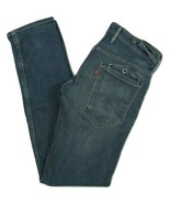 Levi's 511 Skinny Fit Tapered Leg Jeans With Button Pockets Mens W29 x L32 - $27.67