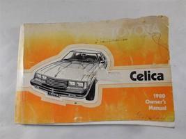 Genuine OEM 1980 Celica Original Owner's Manual Glovebox Guide 80 - $18.33