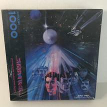 Vintage 1993 Star Trek 1000 Piece Jigsaw Puzzle Robert Peak Undiscovered Country - $23.76