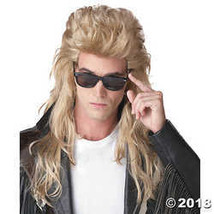 California Costumes Unisex Adult 80's Rock Mullet (Blonde) Adult Wig Blo... - $28.11