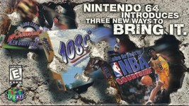 Nintendo Power N64 Promo VHS BASKETBALL NBA Games Promotional Video Tape - $6.32