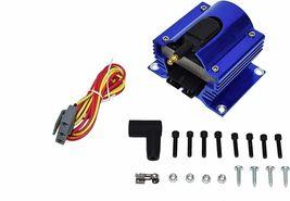 Ford SB R2R Distributor 351W 8.0mm Spark Plug Wires 50K Volt Coil image 4