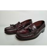 Dexter Mens Tassel Loafer Brown Dress Shoes Leather Sole Size 9-1/2 M - $24.99