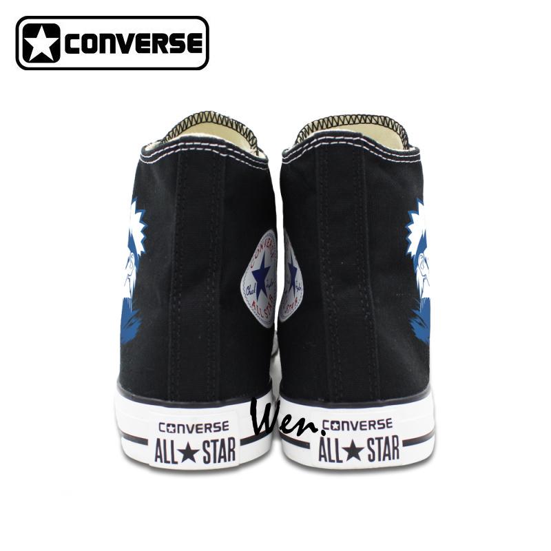 50970c3f7e1dad Anime Shoes Uzumaki Naruto Converse Canvas Sneakers Men Women High Top All  Star